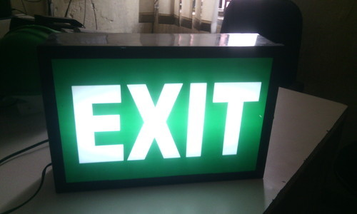 Led Exit Light Box Type