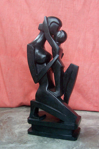 Abstract Stone Figure