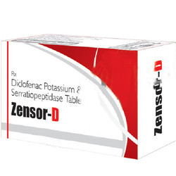 Diclofenac Potassium & Serratiopeptidase Tablets