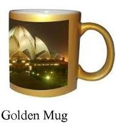 Sublimation Golden Mugs