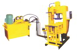 Vibrating Pressure Paver Block Making Machine