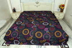 Kantha Suzani Bed Cover