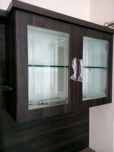 Etching Glass For Cupboards N Kitchens Etc..