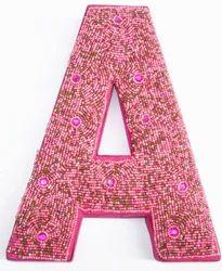 Alphabet Christmas Ornament