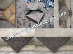 Double Triangular Manhole Covers