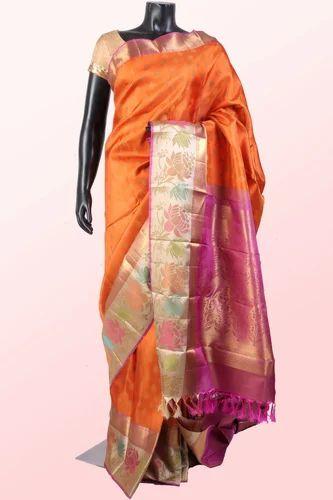 49728630050e63 Kanchipuram Zari Silk Sarees