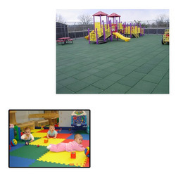 Rubber Flooring for Children Play Area