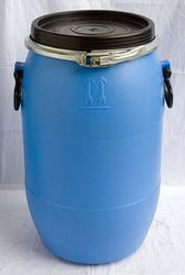 Blue Chemicals Open Mouth Drum, For Industrial