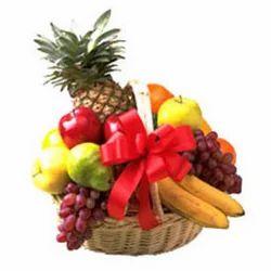 juicy fruits basket dinnerware and serving utensils flowers n