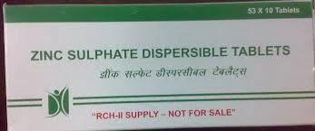 Tablet Zinc Sulphate U S P Hindustan Laboratories Manufacturer