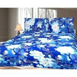 Printed Blue Quilt