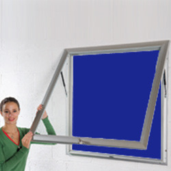 Aluminum Frame Display Boards Size. 4' x4'