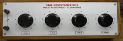 Dial Type Resistance Box