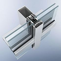 Curtain Walls in Hyderabad, Telangana | Manufacturers & Suppliers of ...