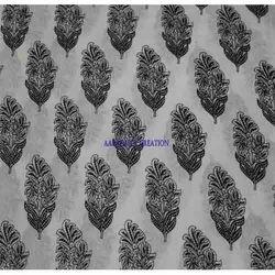 Bagru Print Dress Material