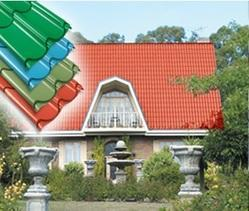 Tata Durashine Steel Tile Roof