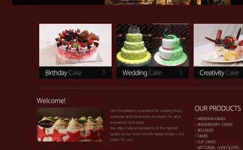 Retailer of Birthday Cake Wedding Cake by Hot Chocolate Coimbatore