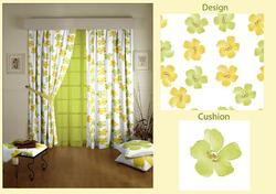 Orchid Designed Curtain