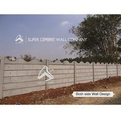 RCC Ready Made Concrete Compound Wall