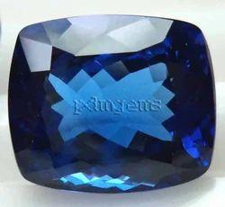 Tanzanite Faceted Cushion Gemstone