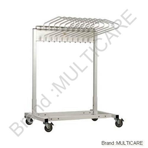 Hospital Furniture General Ward Equipment Apron Stand