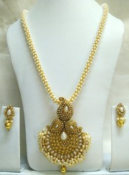 Gold Plated Imitation Necklace Set