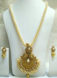 Gold Plated Imitation Necklace Set