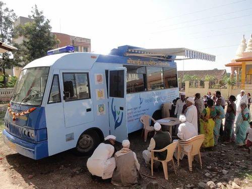 Mobile medical vans - Dental Van Service Provider from Mumbai