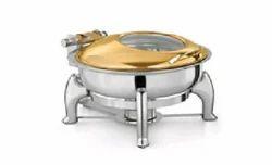 Gold Tone Hydraulic Chafing Dish