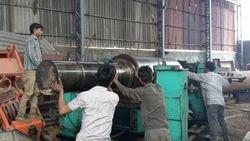 Repairing of Rubber Machinery
