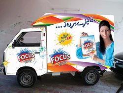 Vehicle Advertising Printing