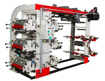 6 Colour Eco Flexographic Printing Machine