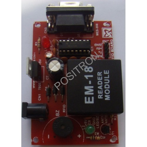 RF ID Card and Reader - EM18 RFID Reader with RS232 Output