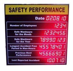 Kamal & Co LED Quality Control Display, Dot Matrix, Wall Mounting