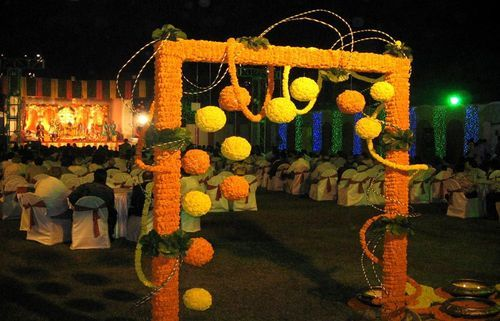 Mehndi And Sangeet Management Outdoor Mehndi Decor Service
