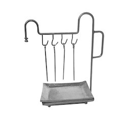 SS Hanging Skewer Set
