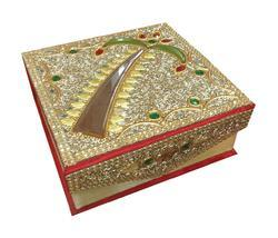 Square Lakh Work Box