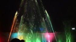 Musical Fountain High Shoot