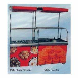 Dahi Bhalla and Jalebi Counter