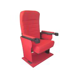 Auditorium Chairs - Cinema Push Back Chair Manufacturer from Mumbai