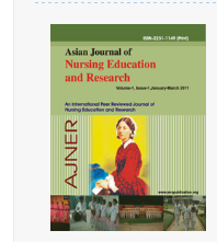 Asian Journal Of Nursing Education And Research