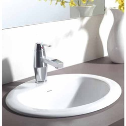 Hindware Vienne Counter Top Self Rimming Basin