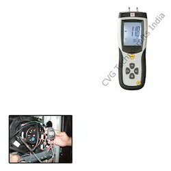 gas manometer. digital manometer for gas pressure o