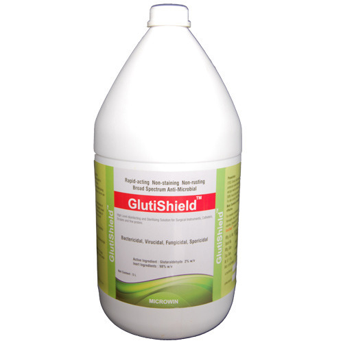 GlutiShield Plus Glutaraldehyde Packaging Type 12