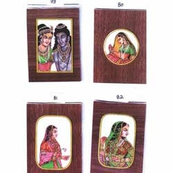 Miniature Painting On Synthetic Ivory