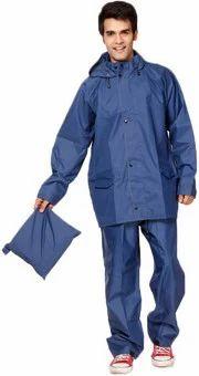S Protection Navy Blue Duck Back Rain Suit 1a20d2bd1