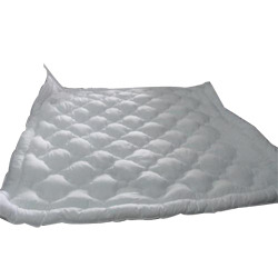 White Flat Quilt