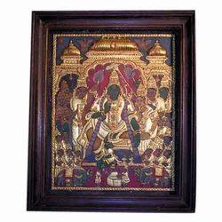 Ramar Pattabhishekam Painting