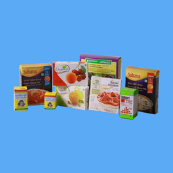 Paper Rectangular Packaging Cartons
