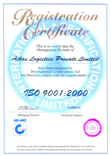 Atlas Logistics Private Limited - Trader from Chennai, India